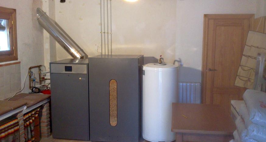 instalacion caldera de biomasa domusa itruiz